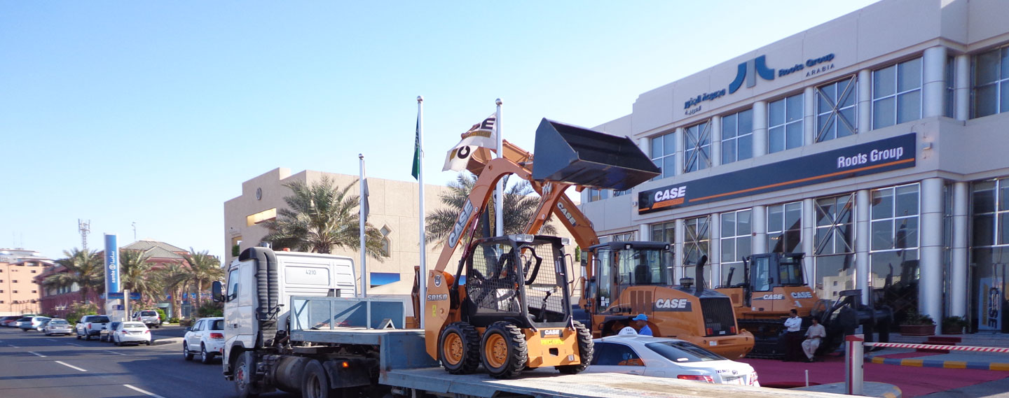 Heavy Equipment Dealership, Jeddah KSA